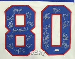 1980 Miracle On Ice Team USA Autographed Jersey 20 Sigs Psa/dna Itp 112464