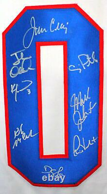 1980 Miracle On Ice Team USA Autographed White Jersey With 18 Signatures-Beckett W