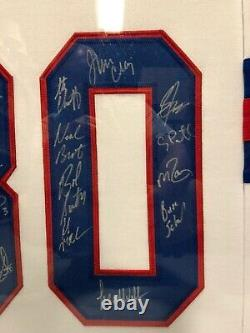 1980 Miracle On Ice USA Olympic Team Autographed 19 Signatures Framed Jersey