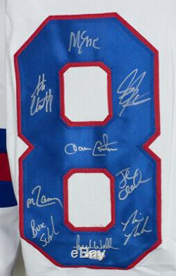 1980 Team USA Miracle On Ice Team Signed Custom Jersey with 18 Signatures JSA ITP