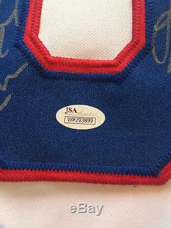 1980 USA Miracle hockey team signed jersey 20 auto Jim Craig Eruzione JSA COA