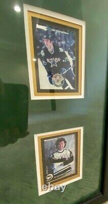 1999 Dallas Stars Stanley Cup Champs Autographed, Framed Limited Edition Jersey