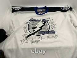 2003-2004 Stanley Cup Champion Tampa Bay Lightning Signed CCM Jersey