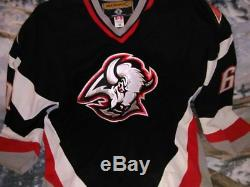 2005-2006 Buffalo Sabres MAXIM AFINOGENOV in-game worn autographed jersey + NHL