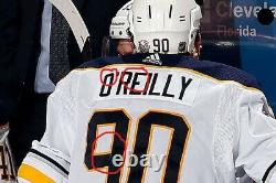 2017-18 Ryan OReilly Buffalo Sabres Game Worn Jersey Photo Matched With LOA
