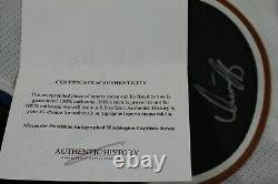 ALEX OVECHKIN SIGNED Washington Capitals CCM JERSEY withCOA White Ovi Authentic 8