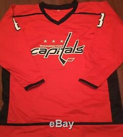 ALEX OVECHKIN Signed Washington Capitals Custom Players Jersey With COA