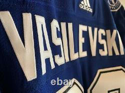 ANDREI VASILEVSKIY Autographed Jersey TAMPA BAY LIGHTNING ADIDAS FRAMEWORTH