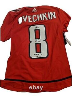 Alex Ovechkin Signed Capitals Adidas Jersey Capitals Authentic fanaticsCertified