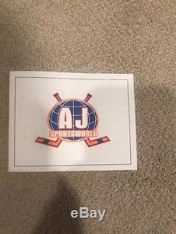 Alex Ovechkin Signed & Framed Autographed Jersey A. J. Sportsworld Certified