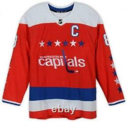 Alex Ovechkin Washington Capitals Signed Red Alternate Adidas Authentic Jersey