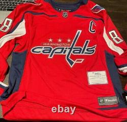 Alex ovechkin autographed jersey