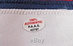 Alexander Ovechkin / Autographed Washington Capitals Custom Hockey Jersey / COA