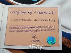Alexander Ovechkin Signed Autograph Vintage ROOKIE Washington Capitals Jersey