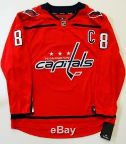 Alexander Ovechkin Signed Washington Capitals Red NHL Authentic Jersey-Beckett