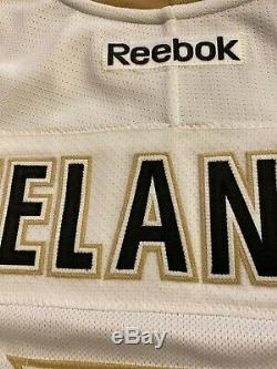 Anaheim Ducks Teemu Selanne Away 20th Anniversary Team Issued SIGNED Jersey