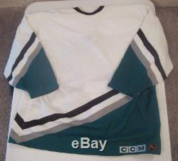 Anaheim Mighty Ducks Vintage Authentic Center Ice CCM Jersey New With Tags