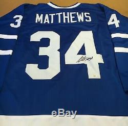 Auston Matthews Toronto Maple Leafs Signed Jersey COA