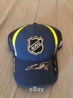 Auston Matthews signed 2018 NHL All Star Atlantic hat COA