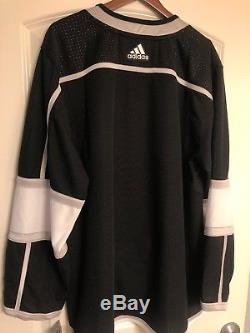 Authentic Adidas Los Angeles Kings Jersey Signed Autographed NHL Kopitar Doughty