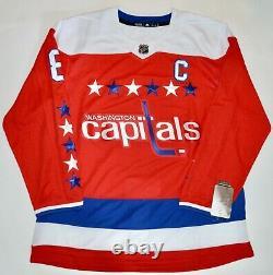 Auto Fanatics Alex Ovechkin Washington Caps Alternate Authentic Adidas Jersey