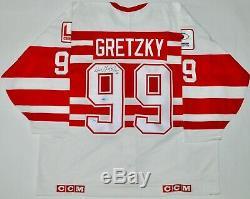 Auto Uda Le999 Wayne Gretzky Nhlpa Tour'94 Jersey