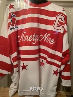 Auto Uda Le 14/999 Wayne Gretzky Nhlpa Tour'94 Jersey And Case