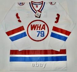 Auto Wga Le72/150 Gordie Howe Mr Hockey Wha All Star M&n Jersey