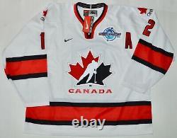 Autographed Dpisports Jarome Iginla Team Canada World Cup 2004 Jersey