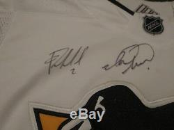 Autographed Pittsburgh Penguins Team Signed Jersey Murray, Letang, Bjugstad, +