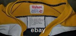 BOBBY ORR SIGNED salesman sample BOSTON BRUINS original durene JERSEY jsa coa
