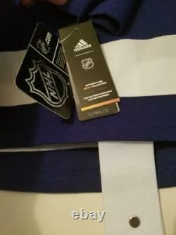 BRAYDEN POINT Autographed with CUP PATCH Tampa Bay Lightning ADIDAS Jersey AJs COA