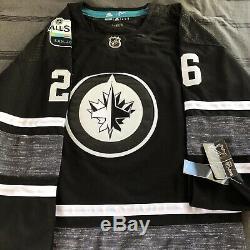 Blake Wheeler Signed Jersey 2019 NHL All Star Game Winnipeg Jets + Beckett Coa