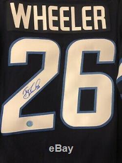 Blake Wheeler Winnipeg Jets Autographed / Signed Jersey AJ Sports COA