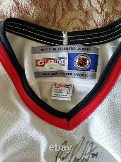 Bob Probert signed Chicago Blackhawks Hockey Jersey Jsa Authenticated