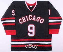 Bobby Hull Signed Custom Chicago Blackhawks Style Jersey NHL Jsa Coa