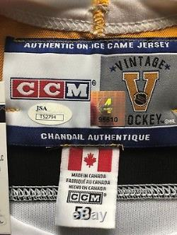 Bobby Orr Dual Authenticated Signed Bruins CCM Jersey