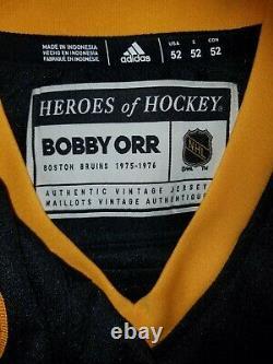 Bobby Orr Fanatics Autograph Adidas Heroes Of Hockey Jersey Boston Bruins