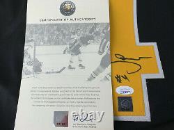 Bobby Orr Signed Autograph Boston Bruins flying goal jersey XL GNR & Jsa COA blk