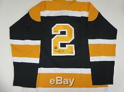 Bobby Orr Signed Oshawa Generals Signed Jersey Great North Road Hologram