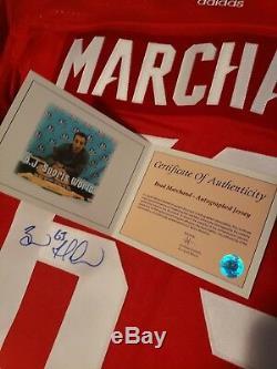 Brad Marchand Autographed Team Canada WCH Jersey COA AJ Sports World