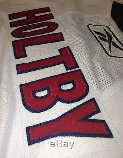 Braden Holtby Signed Washington Capitals Rbk Premier Jersey Psa/dna Coa