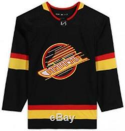 Brock Boeser Vancouver Canucks Signed Black Alternate Adidas Authentic Jersey
