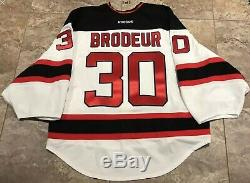 Brodeur Game Issued Stanley Cup 2012 Jersey Nhl Edge 2.0 Size 58G Goalie Cut
