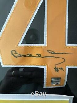 Bruins Bobby Orr Authentic Signed & Framed Black CCM Jersey GNR Coa