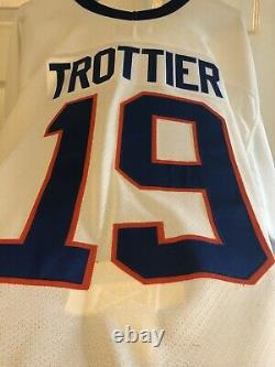 Bryan Trottier New York Islanders CCM Center Ice Collection Authentic Jersey