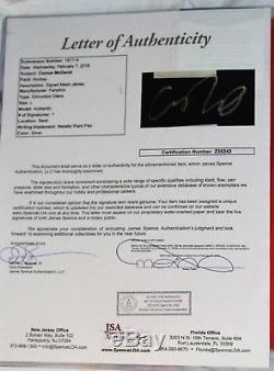 CONNOR McDAVID #97 Signed EDMONTON OILERS Jersey + JSA Letter COA