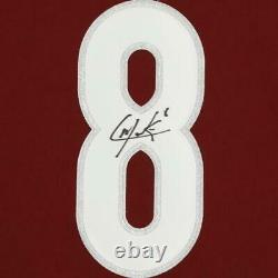 Cale Makar Avalanche Signed Burgundy Authentic Jersey & 25th Anniv Season Patch