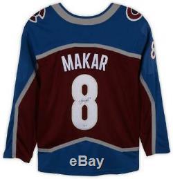 Cale Makar Colorado Avalanche Autographed Burgundy Fanatics Breakaway Jersey