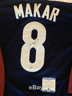 Cale Makar Signed Autograph Jersey Colorado Avalanche Hockey BAS COA